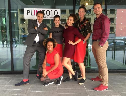 Vandaag vraagt Plint010 rode outfits aandacht voor het vrouwenhart