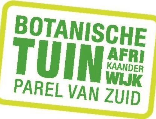 Botanische Tuin Afrikaanderwijk in de picture!